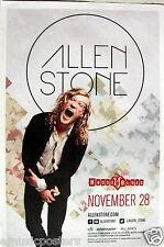 ALLEN STONE SAN DIEGO CONCERT TOUR POSTER - Soul, R&B Music