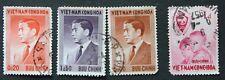4 x Briefmarken Vietnam