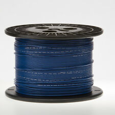 """14 AWG Gauge Stranded Hook Up Wire Blue 1000 ft 0.0641"""" UL1015 600 Volts"""
