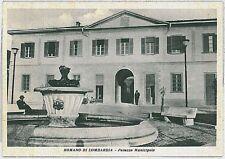 CARTOLINA d'Epoca  BERGAMO  - Romano di Lombardia : PALAZZO COMUNALE
