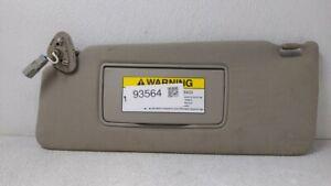 2007-2013 Acura Mdx Driver Sun Visor Mirror Left Sunvisor Light Grey 93564