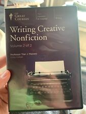 Great Courses: Writing Creative Nonfiction. Volume 2 Only No Guidebook