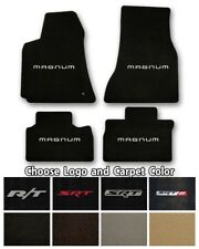 Dodge Magnum Velourtex Carpet Floor Mats- Choice of Carpet Color & Logo