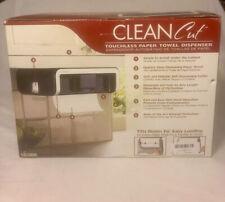 Clean Cut Touchless Paper Towel Dispenser Hands Free CC3200 Black