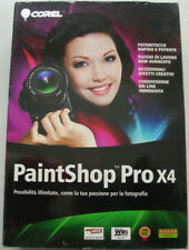 Corel Paint Shop Pro X4 Software Original Photo Editing Raw Advanced Photography