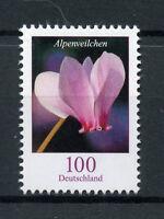 Germany 2018 MNH Flowers Definitives Cyclamen Alpenveilchen 1v Set Nature Stamps