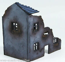 WWS WWII Scenery/Terrain, Model Half Ruin Derelict Farm House Warlord R17