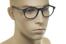 TOM FORD FT5455 001 50mm Mens MEDIUM Square Plastic Retro Eyeglasses BLACK GOLD