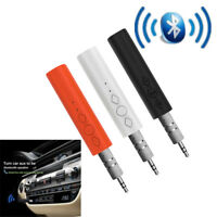 Wireless Handsfree Adapter Bluetooth  AUX Car Stereo Audio Music Receiver  2017