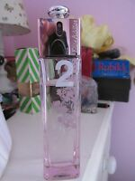 RARE DIOR ADDICT 2 SUMMER PEONIES EAU DE TOILETTE LIGHT PERFUME 100ML USED