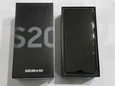 SAMSUNG GALAXY S20 ULTRA SM-G988UZKAXAA  5g  BLACK 128GB AT&T T-MOBILE UNLOCKED