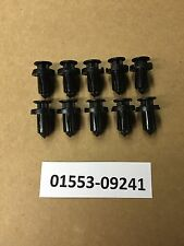 Set of 10: OEM Replacement Nissan Bumper Push Type Retainers Clips 01553-09241