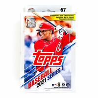 2021 Topps Series 1 Baseball Hanger Box 67 Cards - Factory Sealed - FAST SHIP