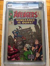 CGC 8.0 Avengers #20 *Swordsman & Mandarin App.*