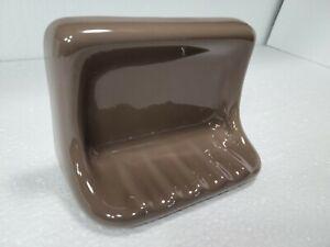 Artesian Brown Ceramic Soap Dish Tray Holder Bathtub Shower Tub Daltile 0144