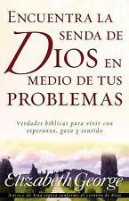 Encuentra la Senda de Dios en Medio de Tus Problemas (Paperback or Softback)