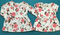 Carter's Baby Girl Floral Pocket Tops Shirts Tunic Size 2T