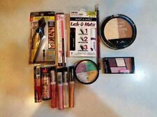 LOT OF 13 Wet N Wild Assorted Sealed Cosmetics-Mascara Contour Pallette, Lip,Eye