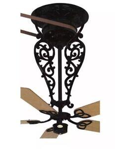 Bourbon Street Collection Fanimation FP520AB Old Time Belt Driven Ceiling Fan