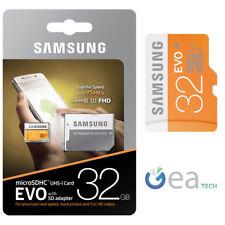 Samsung MicroSD EVO 95MB/s 32 gb Clase 10 + SD Adaptador UHS-I Memoria SDHC