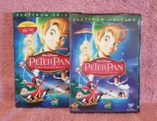 Disney: Peter Pan (Platinum Edition DVD w/Slip & Rewards)  BRAND NEW Buena Vista