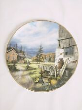 Danbury Mint Collectable Plate So Good To Be Home Country Memories Collection