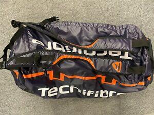 Tecnifibre Rack Pack Pro Tennis Racket Duffle Backpack Orange Duffel Racquet Bag