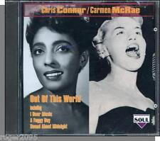 Chris Connor, Carmen McRae - Out of This World  - New 21 Song Charly (UK) CD!