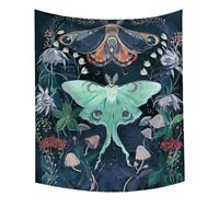 Bedroom Wall Hanging Tapestry Stylish Butterfly Decor Soft Tapestry C7P4