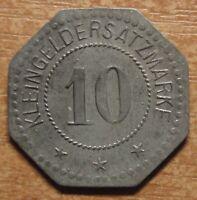 Germany Notgeld (Token) Flensburg 10 pfennig 1917