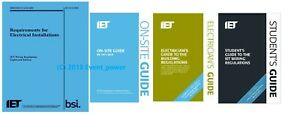 BS7671 & OSG & Building Regs & FREE Student Guide On Site Guide Part P 18th Ed
