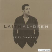 CD Album Laith Al-Deen Melomanie (Dein Lied, Jedes mal) 2002 Digipack Columbia