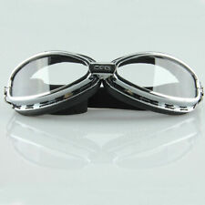 Motorcycle ATV Retro Vintage Aviator Pilot Racing Goggle Glasses for Street Bike