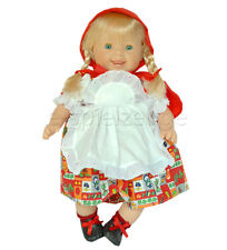 Nines d 'Onil muñeca rubia caperucita roja 45 cm nuevo! de españa! gran regalo!