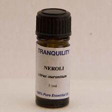NEROLI Olio Essenziale Aromaterapia Stress Ansia Insonnia calmante pura pelle