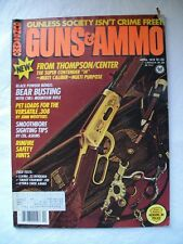 """Guns & Ammo"" Magazine - April 1978"