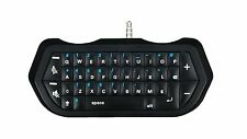 PS4 & PS4 SLIM Bluetooth Mini Wireless Chatpad Keyboard Controller - Black