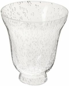 Westinghouse 8109500 - 2-1/4-Inch Clear Seeded Glass Bell