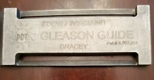 PDT Gleason Guide Pat# 6,852,014 Gracey Sickle Universal NO Sharpening Stone