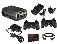RaspberryPi 3 Retro Gaming Kit - 128GB MicroSD Card- Wireless Controllers