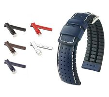 """HIRSCH Performance Watch Band """"Tiger"""", 18-24 mm, 5 colors, new!"""