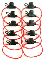 10 x In-Line Car Mini Blade Fuse Holder Waterproof 14AWG US Stock
