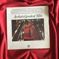 1971 Aretha Franklin Greatest Hits LP vinyl record.