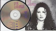 LUCIE LACHAPELLE C'est Bon Pour Moi (CD 1990) 9 Songs Pop Chanson Quebec French
