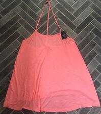 BNWT Size 14 NEXT Pink Tunic / Swing Sleeveless Top - Summer / Beach Wear