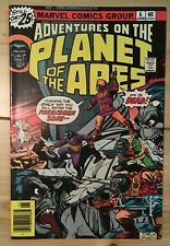 Adventures on the Planet of the Apes #6 Marvel 1976 bronze Nm