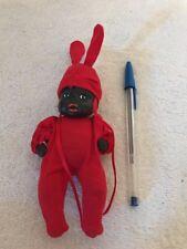 "Vintage 5 1/2""  Pedigree ? African American Hard Plastic Baby Doll"