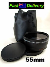 55mm 0.45x Wide Angle Lens! For Nikon AF-P DX NIKKOR 18-55mm f/3.5-5.6G Lens