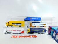 BX349-1# 5x Albedo 1:87/H0 Sattelzug: MB Post/Nedlloyd + Volvo, 2. Wahl+OVP