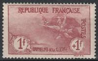 """FRANCE STAMP TIMBRE 154 """" ORPHELINS 1F+1F MARSEILLAISE """" NEUF xx LUXE  M235"""